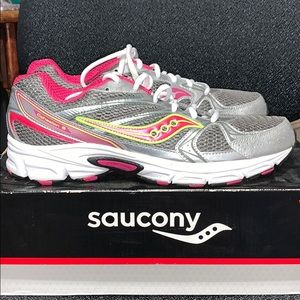New Saucony Cohesion 6 women's shoes Sz 10.5